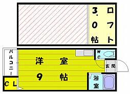 エクセル和白[1階]の間取り