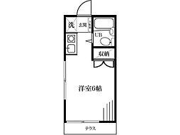 新豊田ハイツB号館[1階]の間取り