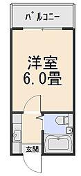グランディービル奈良道[4階]の間取り
