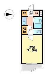 マインド覚王山[2階]の間取り