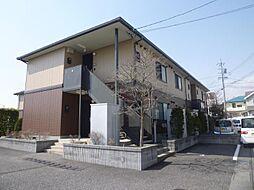 長野県長野市稲田 2丁目の賃貸アパートの外観