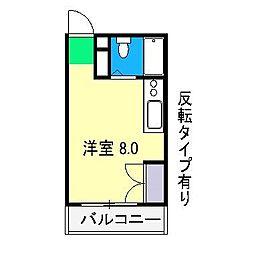 エトワール愛宕II[4階]の間取り
