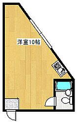 松尾寺[3号室]の間取り