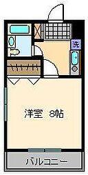 バニーズビル[5階]の間取り
