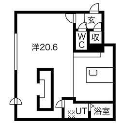 菊水駅 6.3万円