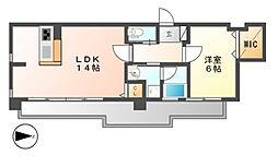 FIRST RESIDENCE SAKAEファーストレジデン[11階]の間取り