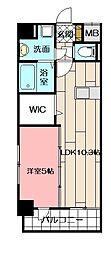 シエラ北方 4階1LDKの間取り