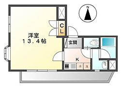 アビタシオン鶴舞[10階]の間取り
