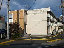 長野県松本市庄内3丁目の賃貸アパートの外観
