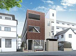大阪府大阪市東淀川区柴島2丁目の賃貸アパートの外観