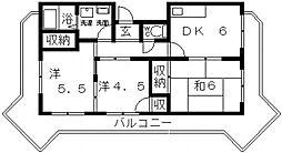 メゾンプレミール[3階]の間取り