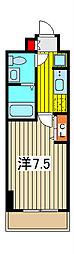 アトラスカーロ浦和常盤弐番館[2階]の間取り