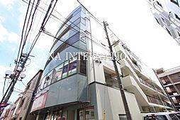 東京都調布市布田2丁目の賃貸マンションの外観