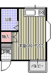 北坂戸駅 1.7万円