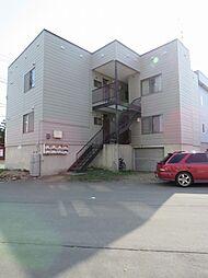 北海道札幌市東区北十五条東7丁目の賃貸アパートの外観
