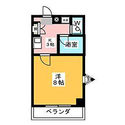 シャイン名藤[2階]の間取り