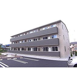 福島県郡山市大槻町の賃貸アパートの外観