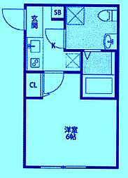 CASAR武蔵新城[3階]の間取り