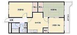 桜ケ丘レジデンス1[3階]の間取り