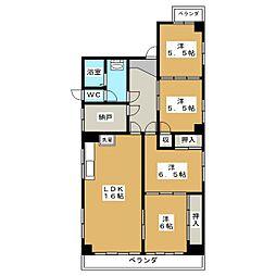 AKORA[2階]の間取り