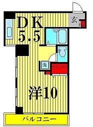 ラ・プリエ[6階]の間取り