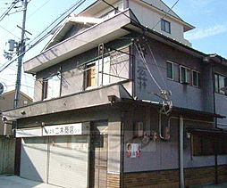 京都府京都市中京区壬生賀陽御所町の賃貸アパートの外観