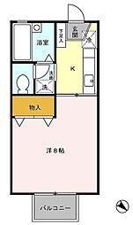 ルーラルハイツ[2階]の間取り