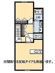 (新築)ア・シンプル[201号室]の間取り
