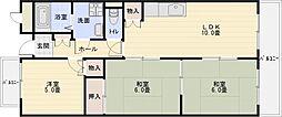 メゾン離宮[5階]の間取り