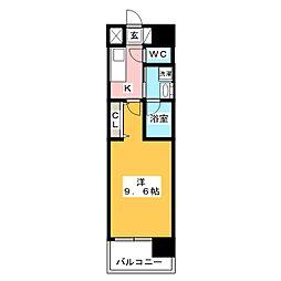 ArtizA上前津II[3階]の間取り