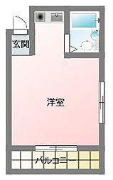エクセルピア戸塚(エクセルピアトツカ)[2階]の間取り