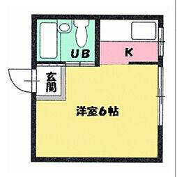 ひまわりビル[407号室]の間取り