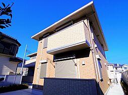 東京都中野区上鷺宮1丁目の賃貸アパートの外観