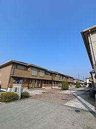 埼玉県川越市木野目の賃貸アパートの外観