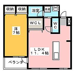 サンライトハイム10−C[2階]の間取り