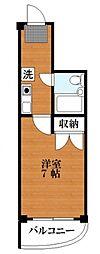 田澤ビル[4階]の間取り