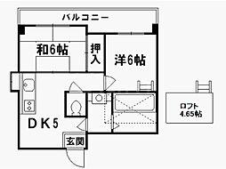 West Square[3階]の間取り