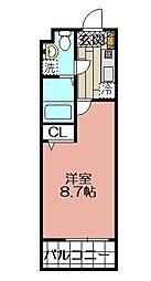 エンクレスト警固(1006)[10階]の間取り
