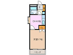 ワールドマンション[3階]の間取り