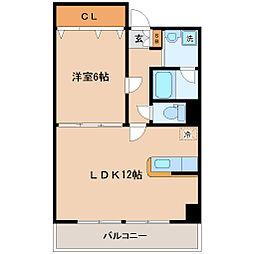 サークル10ビル[3階]の間取り