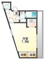 マサモトマンション3[202号室]の間取り
