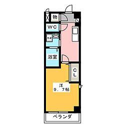 愛知県名古屋市北区山田町4の賃貸マンションの間取り