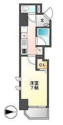 ベレーサ名駅ウエスト[8階]の間取り