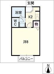 SEJOUR青山[1階]の間取り
