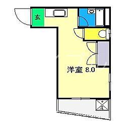 レジデンスオーキッド[3階]の間取り