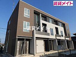 三重県松阪市南町の賃貸アパートの外観