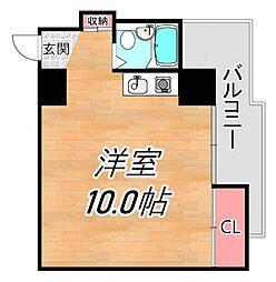 グレイスマンション2番館[402号室号室]の間取り