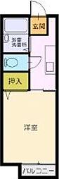 ノヴァ幕張[1階]の間取り