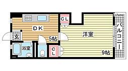 豊田マンション[202号室]の間取り