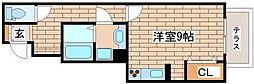 兵庫県神戸市長田区西尻池町2丁目の賃貸アパートの間取り